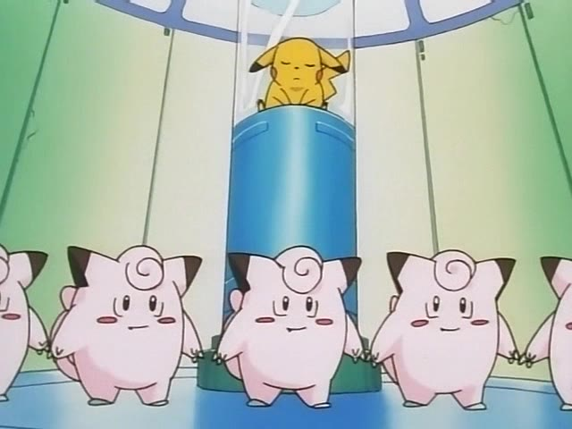 Clefairy standing together